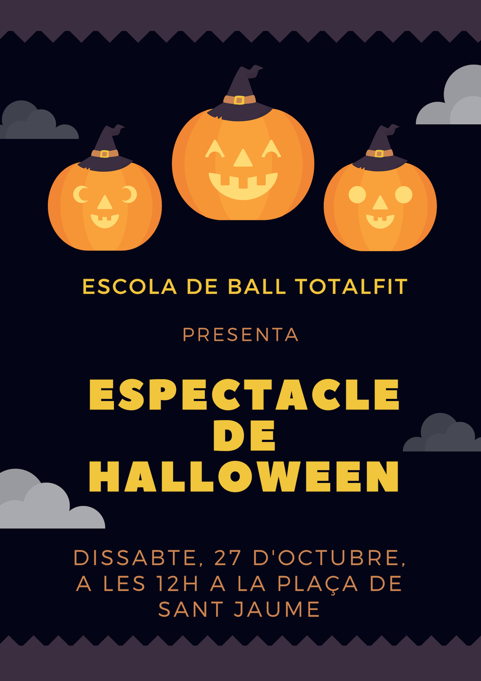 ESPECTACLE DE HALLOWEEN